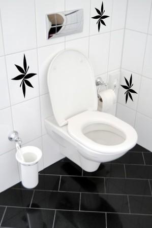 Ozdoby na kafelki łazienkowe